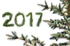 Nuovo anno 2017 Immagine Stock Libera da Diritti