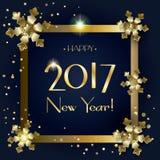 Nuovo anno 2017 Royalty Illustrazione gratis