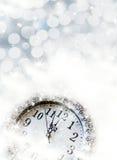 Nuovo anno alla mezzanotte Fotografia Stock Libera da Diritti