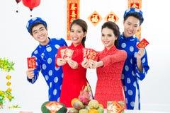Nuovo anno asiatico Immagini Stock