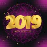 Nuovo anno benvenuto royalty illustrazione gratis