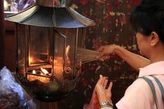 Nuovo anno cinese 2012 - Bangkok, Tailandia Immagini Stock