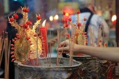 Nuovo anno cinese 2012 - Bangkok, Tailandia Fotografia Stock