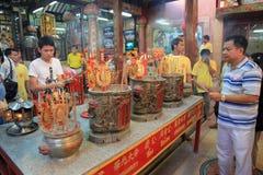 Nuovo anno cinese 2012 - Bangkok, Tailandia Fotografia Stock Libera da Diritti