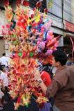 Nuovo anno cinese 2012 - Bangkok, Tailandia Fotografie Stock Libere da Diritti