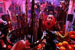 Nuovo anno cinese 2015 fotografia stock libera da diritti