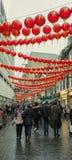 Nuovo anno cinese in Chinatown, Soho, West End, Londra, Regno Unito Fotografia Stock Libera da Diritti
