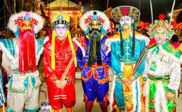 Nuovo anno cinese 2014 degli attori Immagini Stock Libere da Diritti