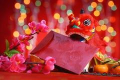 Nuovo anno cinese felice Immagine Stock