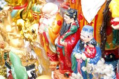 Nuovo anno cinese a Manila Chinatown immagini stock