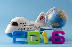 Nuovo anno Corsa Immagini Stock