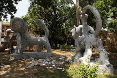 Nuovo anno 1421 del bengalese: Dacca è l'umore festivo Fotografia Stock Libera da Diritti