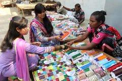 Nuovo anno 1421 del bengalese: Dacca è l'umore festivo Immagini Stock