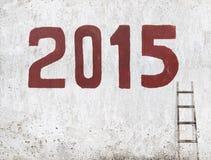 Nuovo anno 2015 della capra Fotografia Stock Libera da Diritti