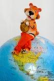 Nuovo anno della tigre Fotografie Stock