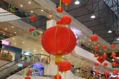 Nuovo anno di cinese delle lanterne Fotografia Stock Libera da Diritti