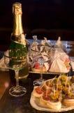 Nuovo anno Eve Immagini Stock