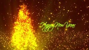 Nuovo anno felice 1 video d archivio