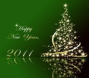Nuovo anno felice Fotografie Stock