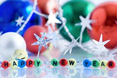 Nuovo anno felice! Immagini Stock
