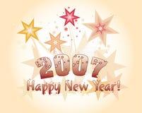 Nuovo anno felice. Fotografie Stock Libere da Diritti