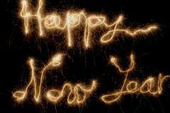 Nuovo anno felice immagine stock