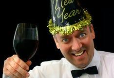 Nuovo anno felice 2 Fotografia Stock Libera da Diritti
