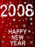 Nuovo anno felice 2 Immagini Stock
