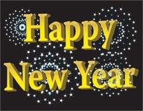 Nuovo anno felice 2009 Immagine Stock Libera da Diritti