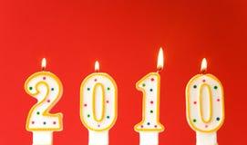 Nuovo anno felice 2010! Immagini Stock Libere da Diritti
