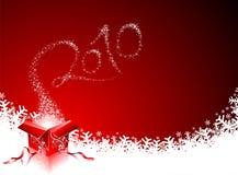 Nuovo anno felice 2010 Immagini Stock Libere da Diritti