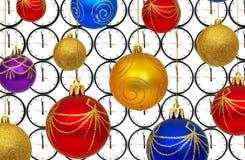 Nuovo anno felice 2010 Fotografia Stock