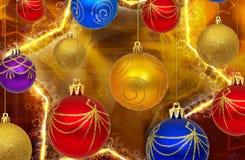 Nuovo anno felice 2010 Immagine Stock