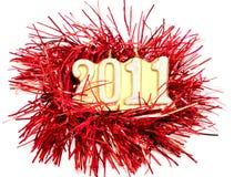 Nuovo anno felice 2011 Immagine Stock Libera da Diritti