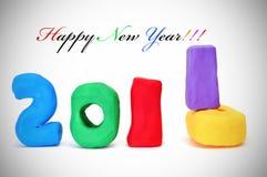 Nuovo anno felice 2011 Immagini Stock