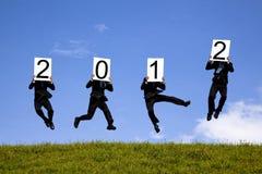 Nuovo anno felice 2012 Fotografie Stock