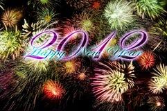 Nuovo anno felice - 2012 Immagine Stock Libera da Diritti