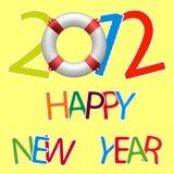 Nuovo anno felice 2012 Fotografia Stock Libera da Diritti