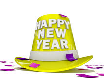 Nuovo anno felice 2012 Immagine Stock