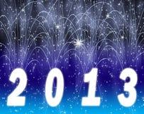 Nuovo anno felice 2013 Illustrazione Vettoriale