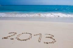 Nuovo anno felice 2013 Fotografia Stock