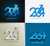 Nuovo anno felice 2014 Fotografia Stock
