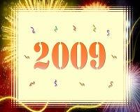 Nuovo anno felice illustrazione vettoriale