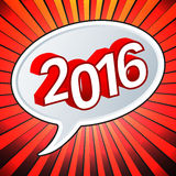 Nuovo anno felice illustrazione di stock