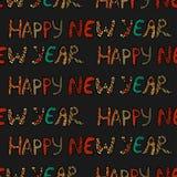 Nuovo anno felice Immagini Stock