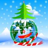 Nuovo anno felice di festa fotografia stock libera da diritti