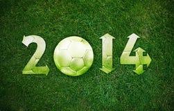 Nuovo anno felice di sport Immagini Stock Libere da Diritti