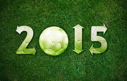 Nuovo anno felice di sport Fotografie Stock Libere da Diritti