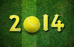 Nuovo anno felice di sport Immagini Stock