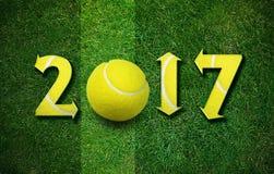 Nuovo anno felice di sport Fotografia Stock Libera da Diritti